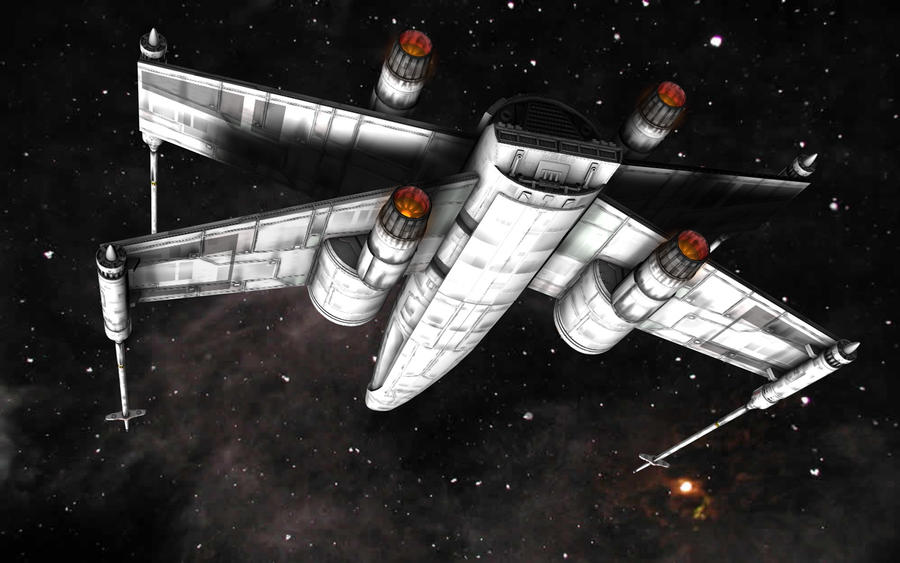 McQuarrie XWing Proto 03 by JefferyWright