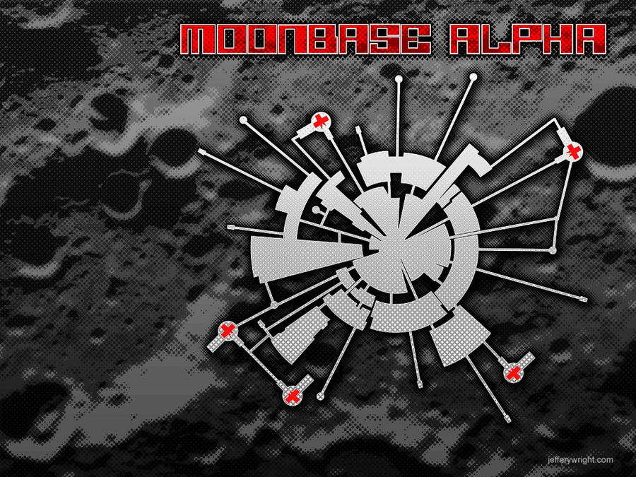 Moonbase Alpha Wallpaper by JefferyWright