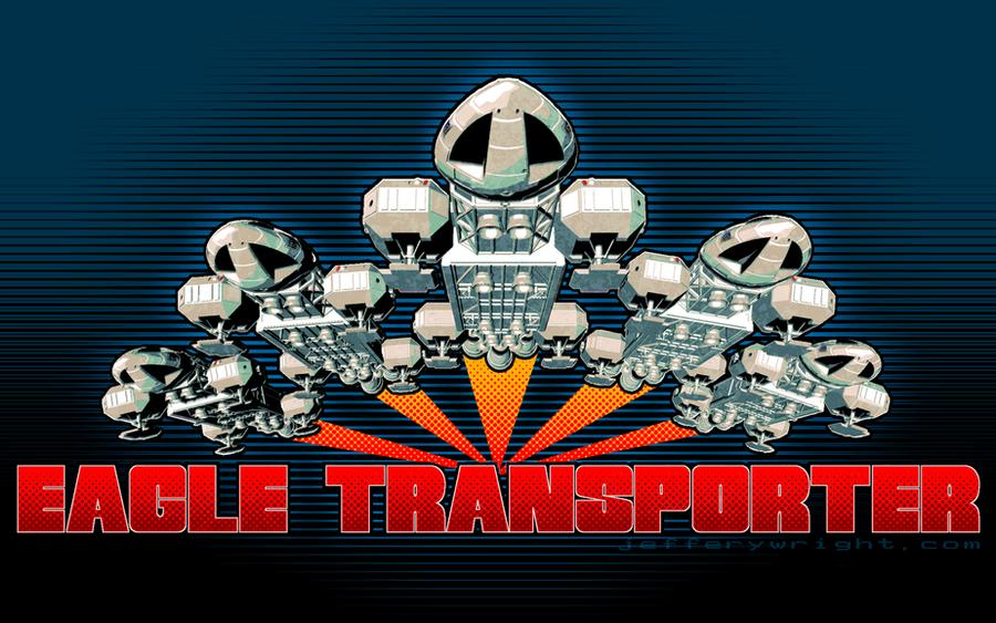 Eagle Transporter Ascent Wallpaper by JefferyWright