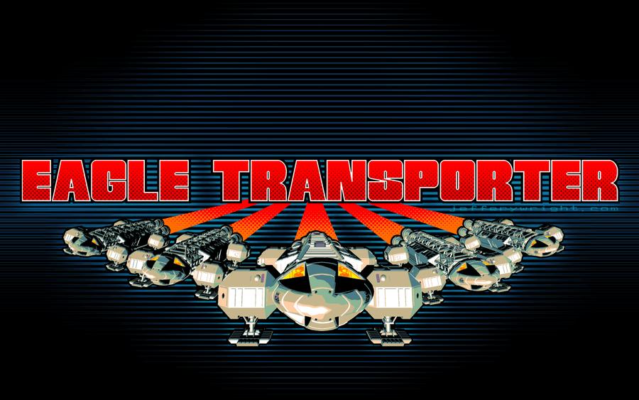 Eagle Transporter Descent Wallpaper by JefferyWright