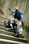 Cyber Roxas and Demyx