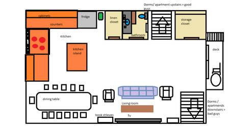 Dissidia Dorm layout