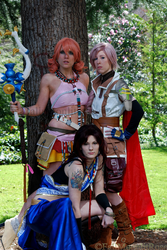 Lightning, Fang and Vanille
