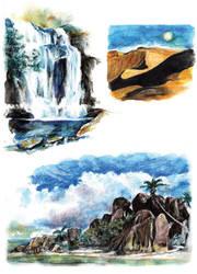 Landscapes by RobD4E