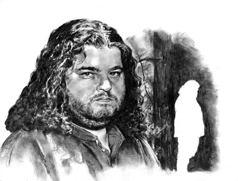 Dibujando......... Hurley_by_RobD4E