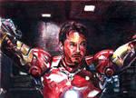Tony Stark Sketchcard