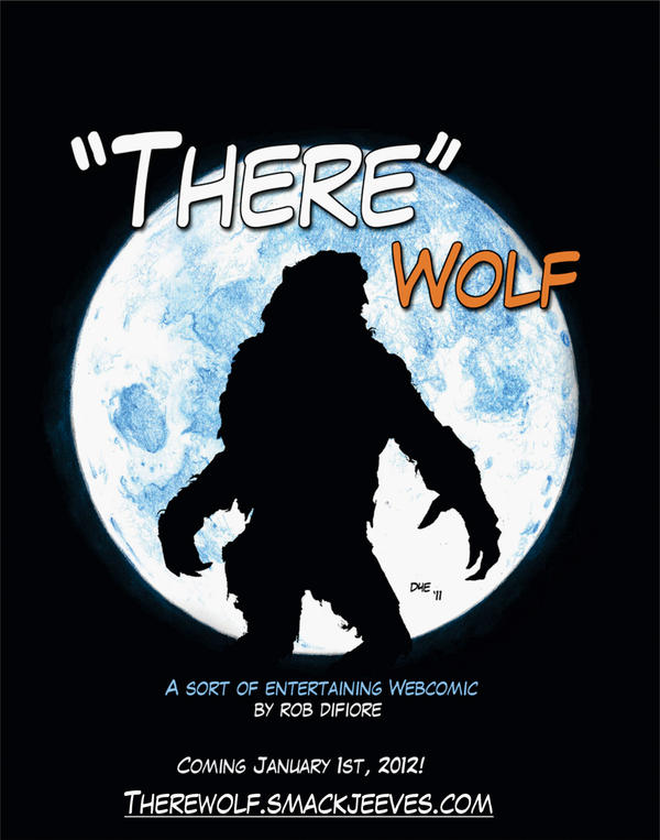 'THERE Wolf' the Web Comic by RobD4E