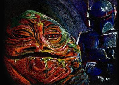 Jabba and Boba by RobD4E