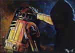 Force Awakens - Luke and R2