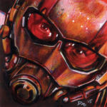 Ant-Man Post-It note sketch