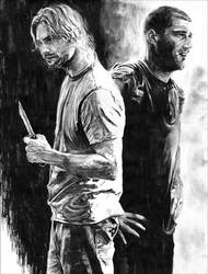 Sawyer and Jack by RobD4E
