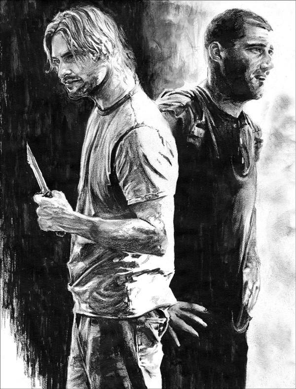 Dibujando......... Sawyer_and_Jack_by_RobD4E