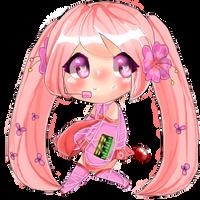 Sakura Miku by marajuana