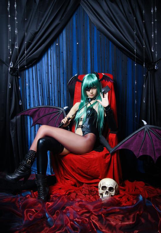 Vampire Savior - Morrigan Aensland by RIN-AlleyCat