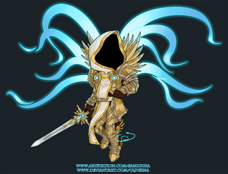 Tyrael, Archangel of Justice by OlivSima
