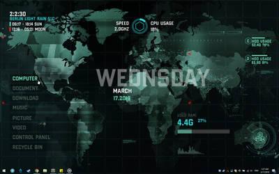 RainDesktop2 Preview Video