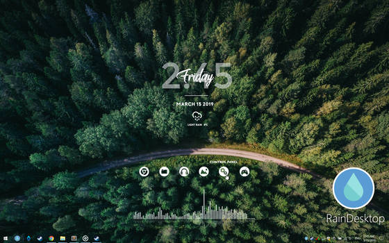 RainDesktop - Live Desktop Engine 2.7