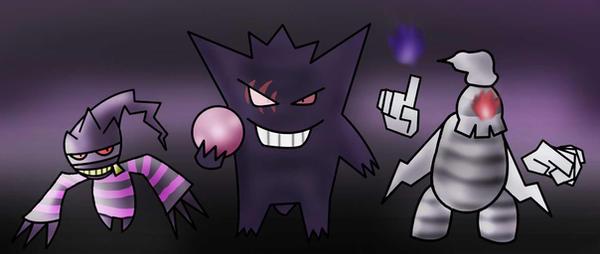 Ghostly Trio by BrawlKoopa