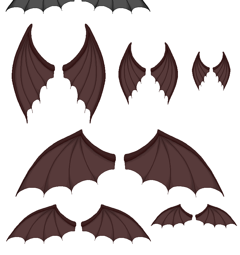 demon wings by base-o-holic on DeviantArt