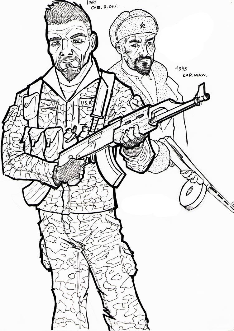call of duty  black ops by tolodibuixo on deviantart