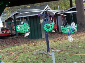Spinning Swing Set