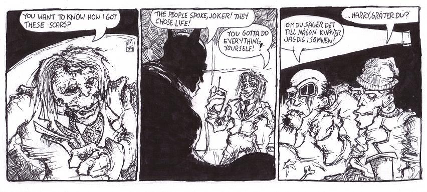Film Freaky: The Dark Knight by FreakshowComics