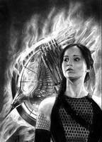 Katniss Everdeen by Ragonforz