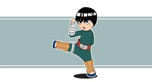 Rock plus Lee  equals Badass by niwre-san