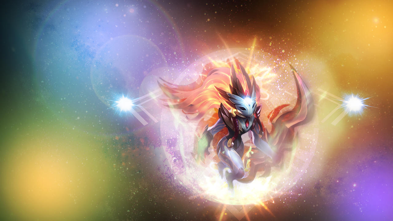 Kindred Minimalist Wallpaper League Of Legends By: League Of Legends ShadowFire Kindred Wallpaper By OmerZiv