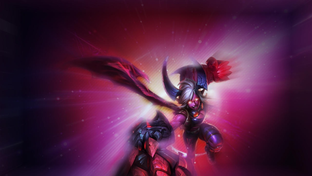 League Of Legends Demon Vi Wallpaper By Omerziv On Deviantart