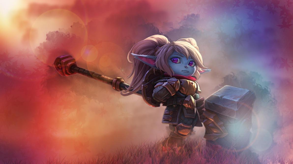 League Of Legends Poppy Wallpaper: Poppy Reworked SplashArt Wallpaper By OmerZiv On DeviantArt