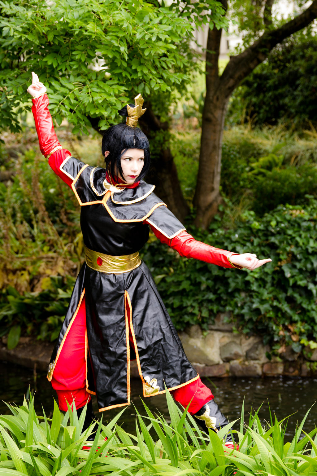 Azula, Princess of the Fire Nation - Avatar by Wolfenheim84