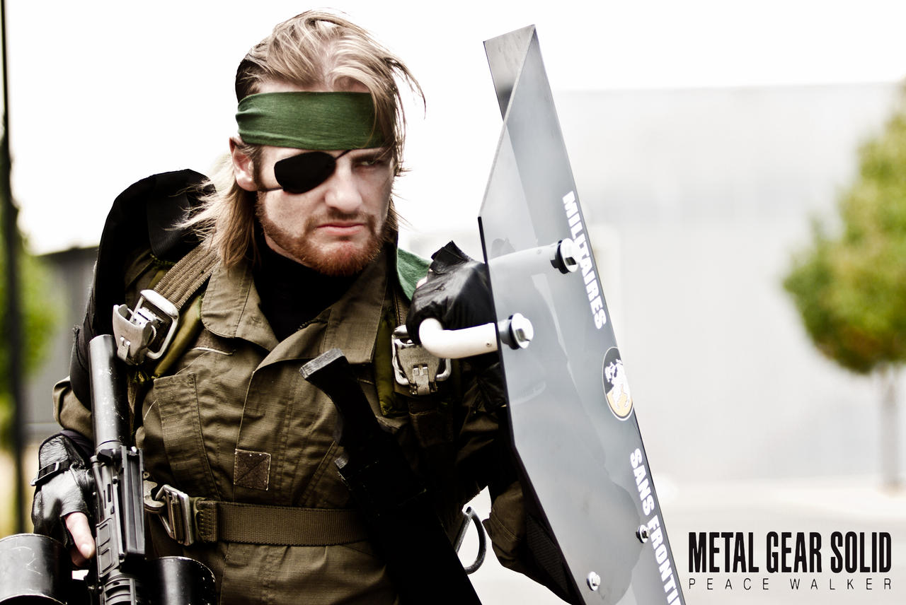 Big Boss - Metal Gear Peace Walker by Wolfenheim84