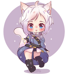 chibi neko commission