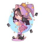 chibi witch commission fiverr