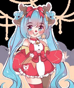 Merry Christmas!! Miku Hatsune