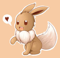 Eevee by xXAsceXx