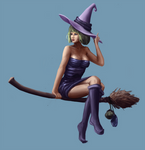 Lia, the sneaky witch