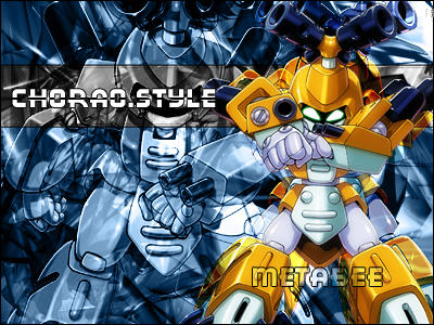 MEDABOTS Art by chorao
