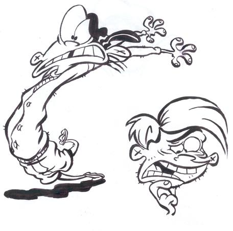 ed inks by SteveLeCouilliard