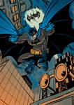 The Goddamn Batman by SteveLeCouilliard