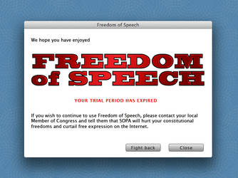 FREE ANTI SOPA GRAPHIC by SteveLeCouilliard