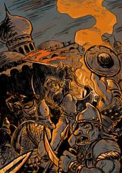 Una at War by SteveLeCouilliard
