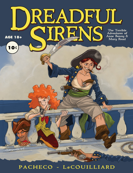 Dreadful Sirens by SteveLeCouilliard