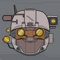 Linda's helmet