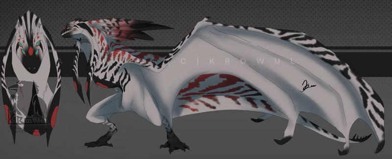 Creature Design: Stripped Wyvern