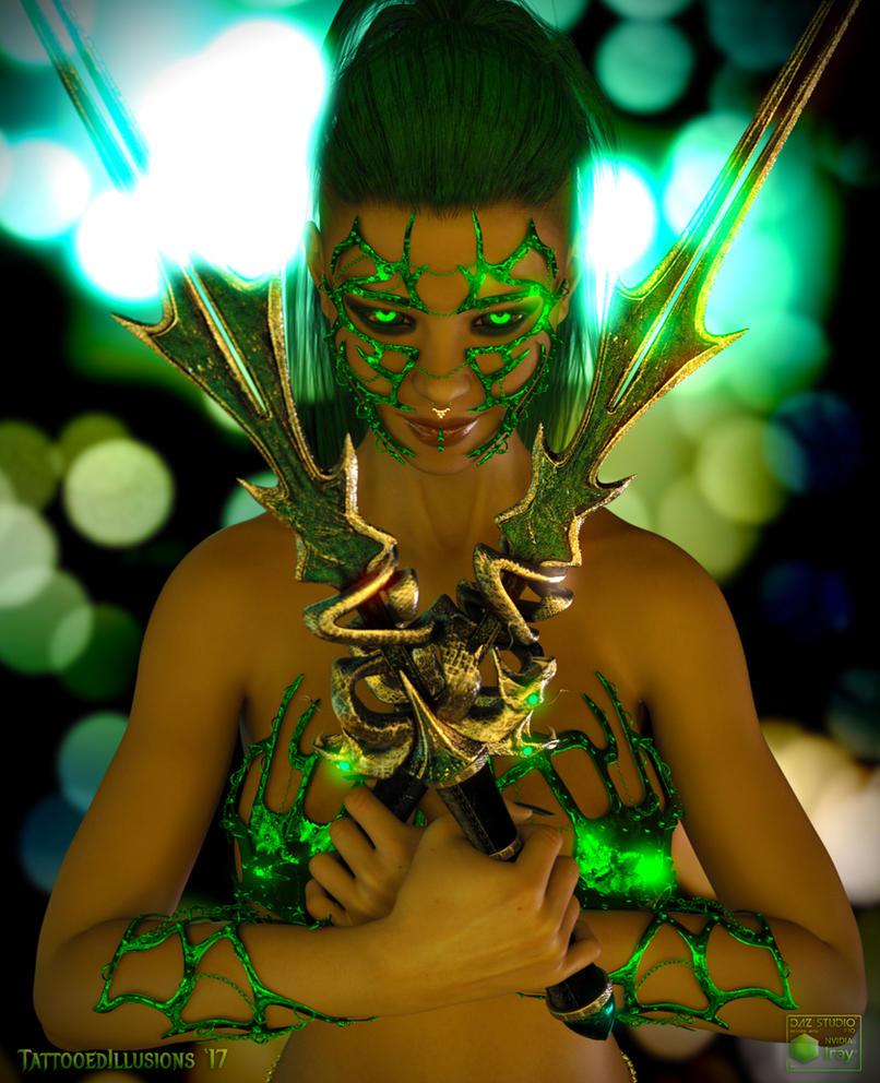 Serpent Goddess by inkedillusions