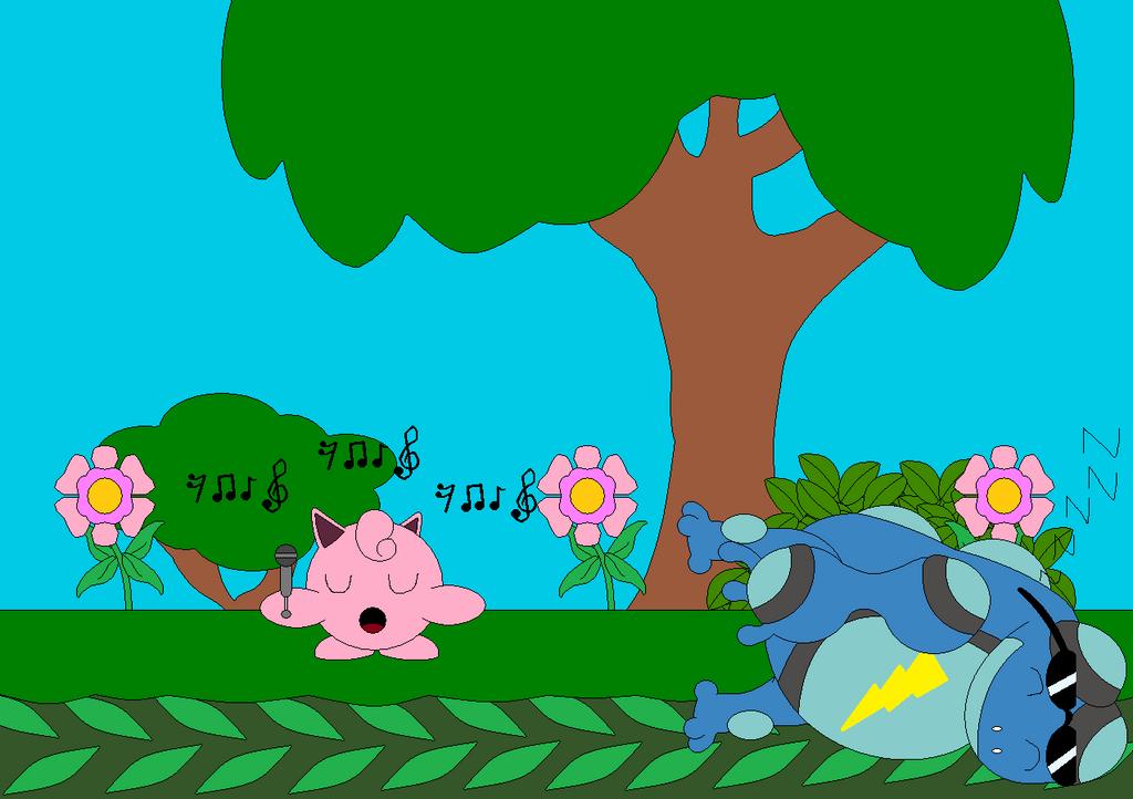 Jigglypuff Singing by Bowser14456 on DeviantArt