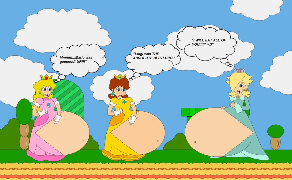 Princess Triple Vore (my version) by Bowser14456 on DeviantArt