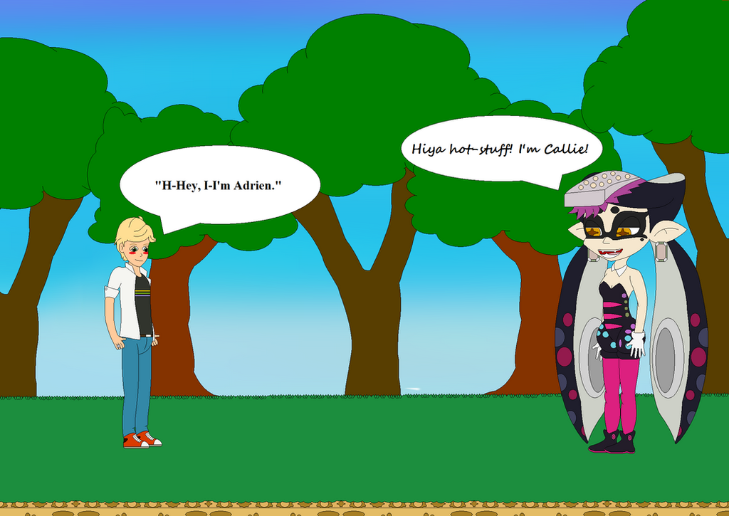 Adrien Meets Callie By Bowser14456 On DeviantArt